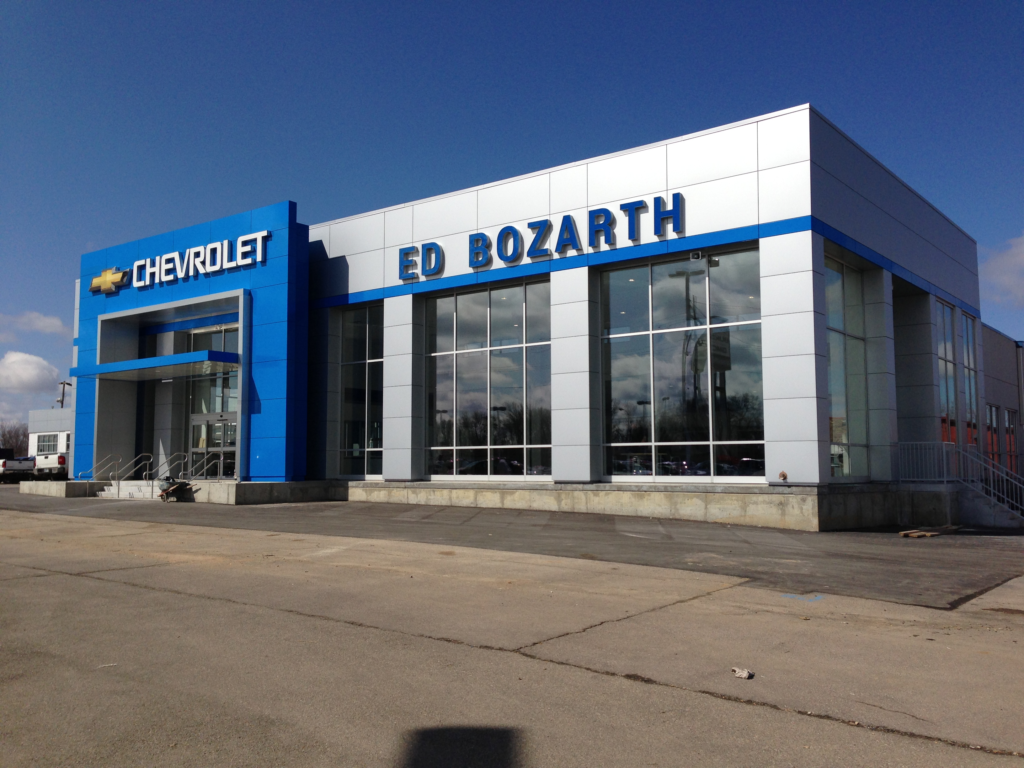 Ed Bozarth Chevrolet (Topeka) - Metal Design Systems