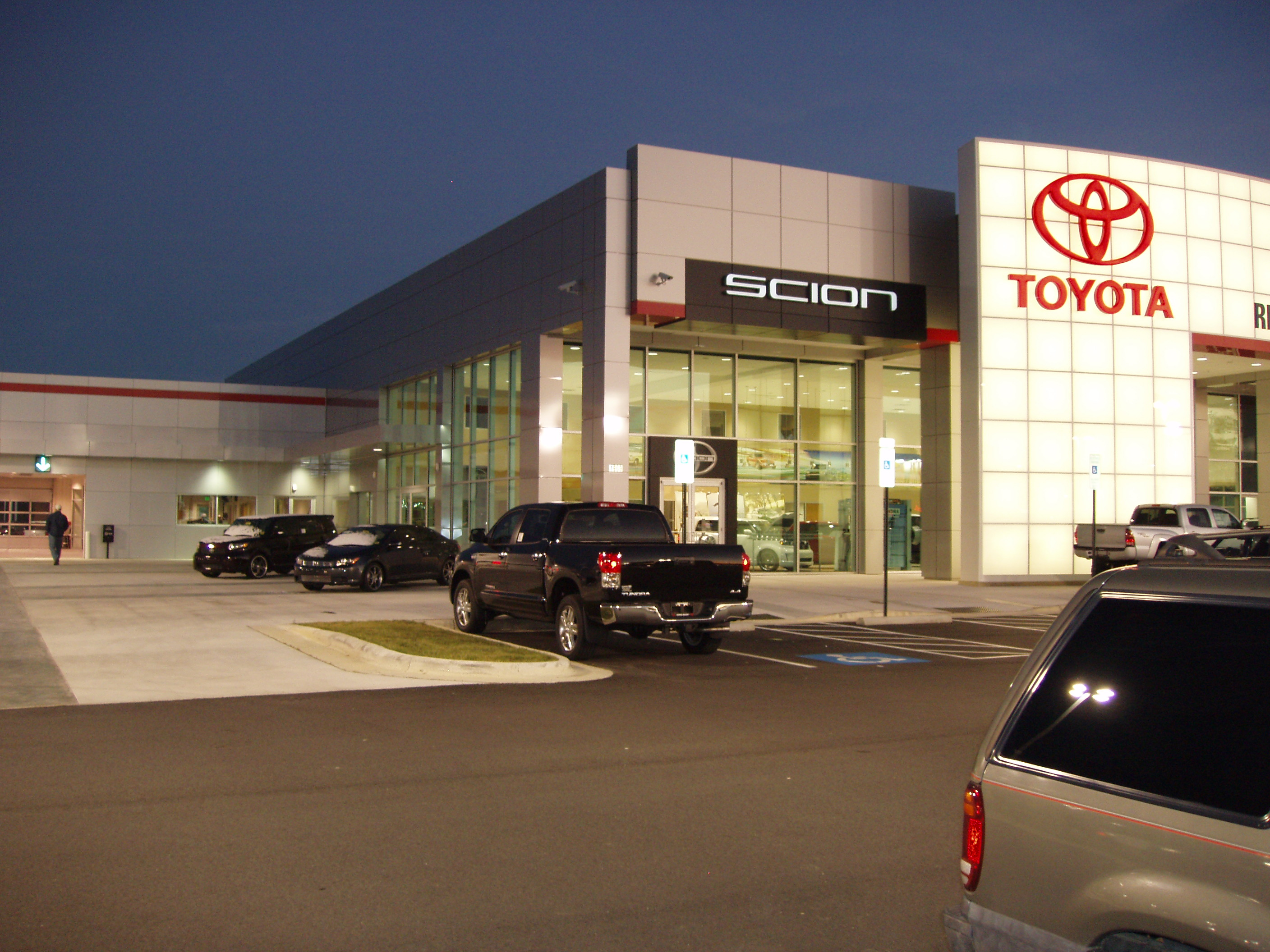 Rick Hendrick Toyota Fayetteville Metal Design Systems