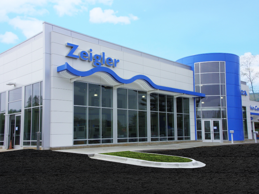 Honda metal design systems for Zeigler honda service